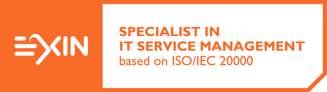 Specialist in IT Service Management based on ISO/IEC 20000