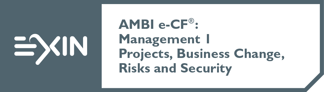 EXIN AMBI e-CF®: Management 1 Projects, Business Change, Risks and Security
