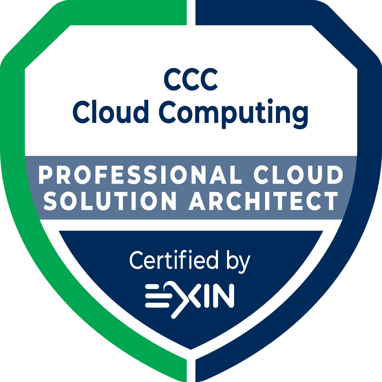 CCC Professional Cloud Solution Architect