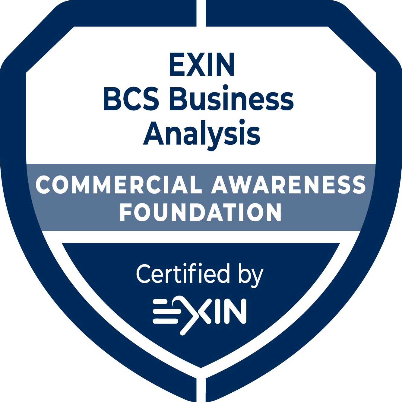 EXIN BCS Foundation Certificate in Commercial Awareness