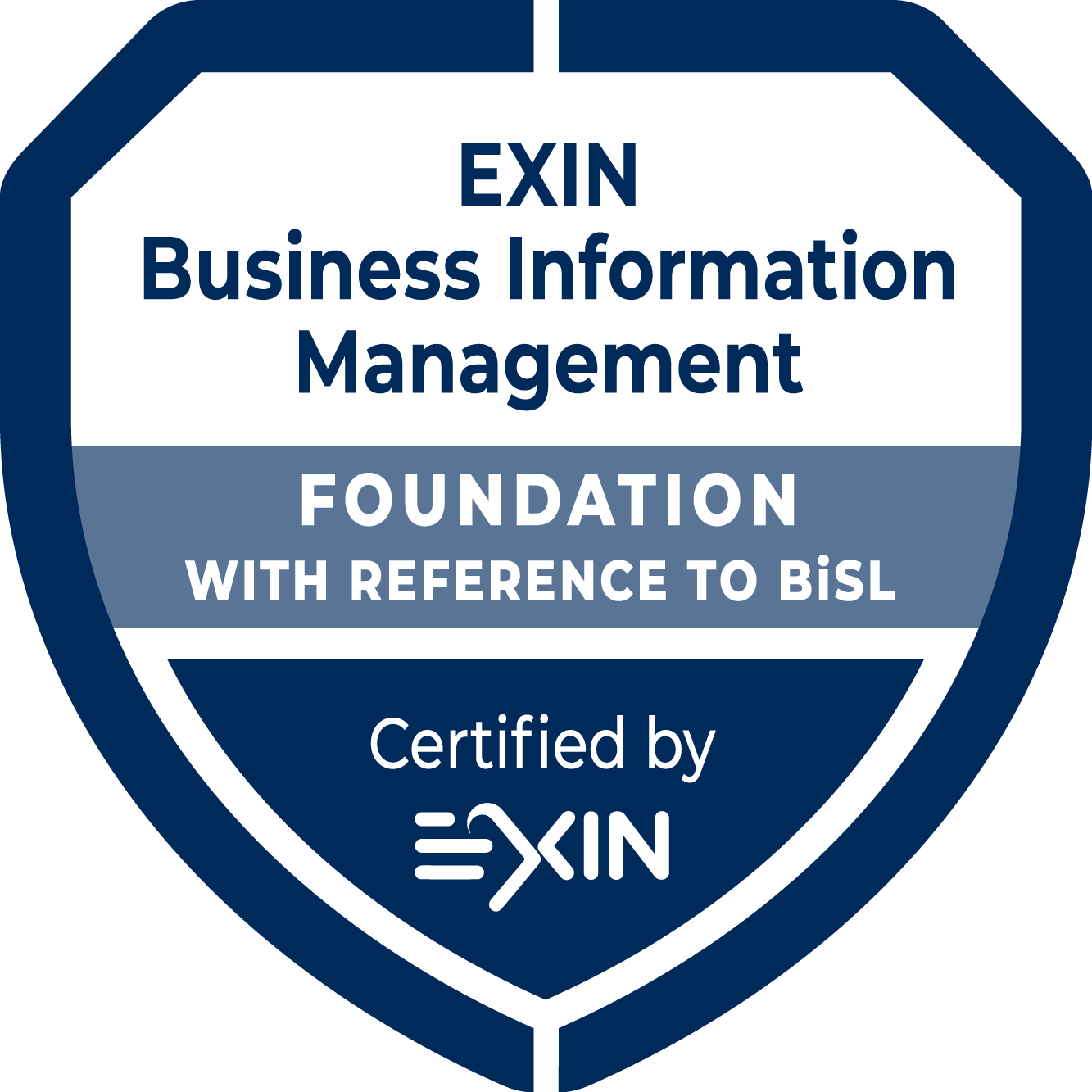 EXIN Business Information Management Foundation with reference to BISL