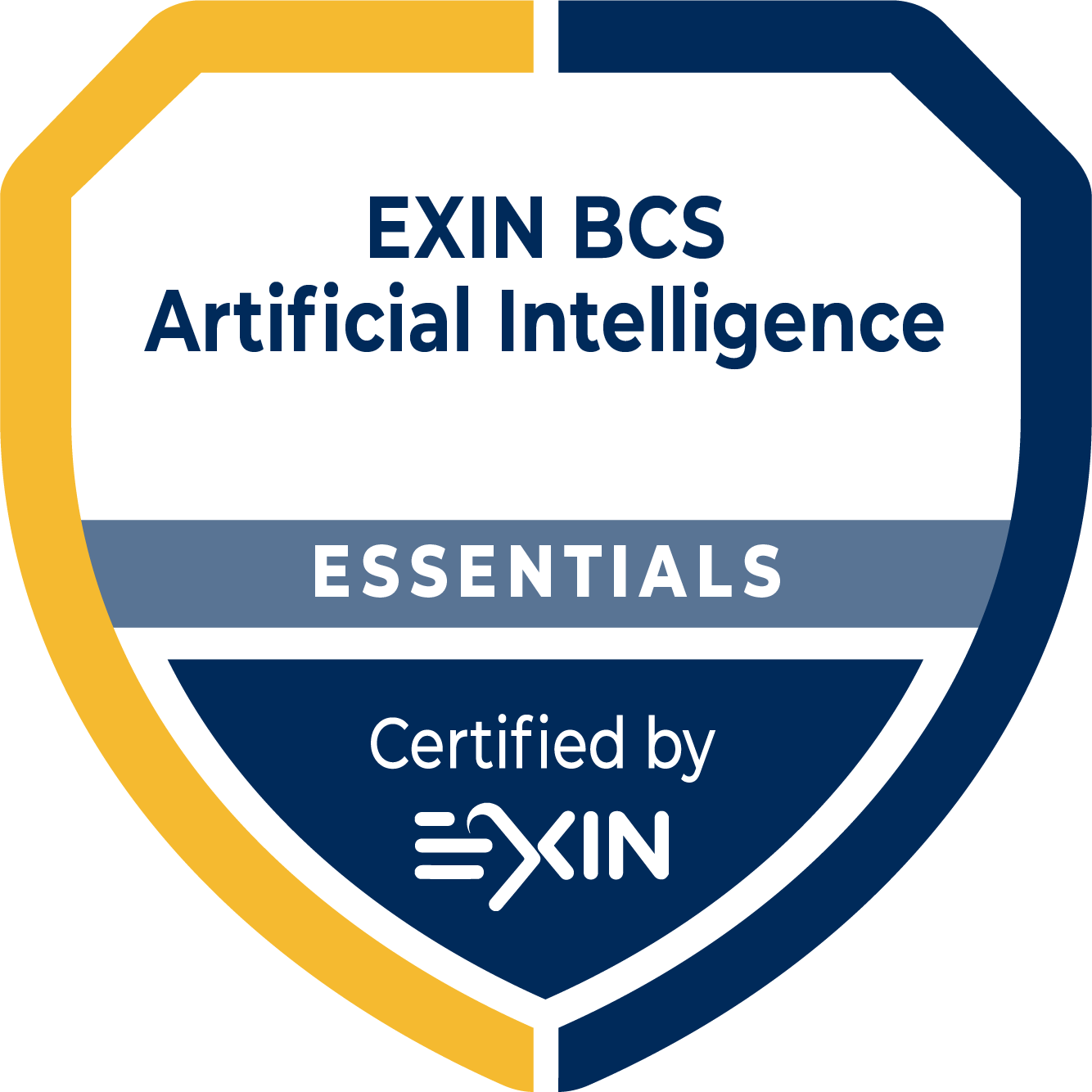 EXIN BCS Artificial Intelligence Essentials