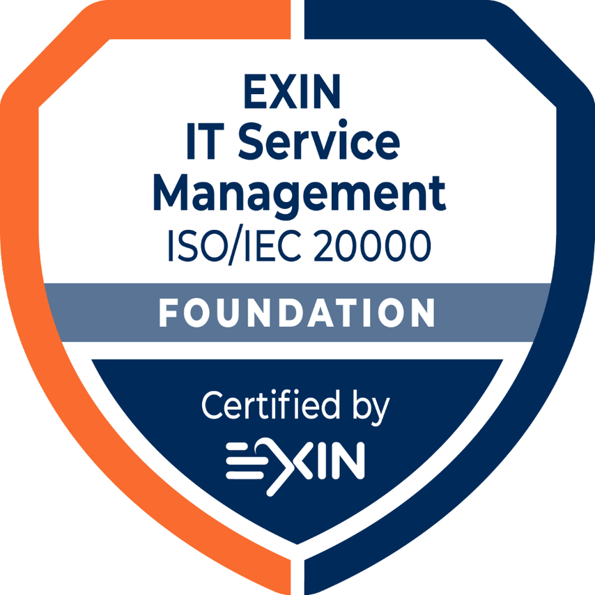 EXIN IT Service Management Foundation based on ISO/IEC 20000:2018