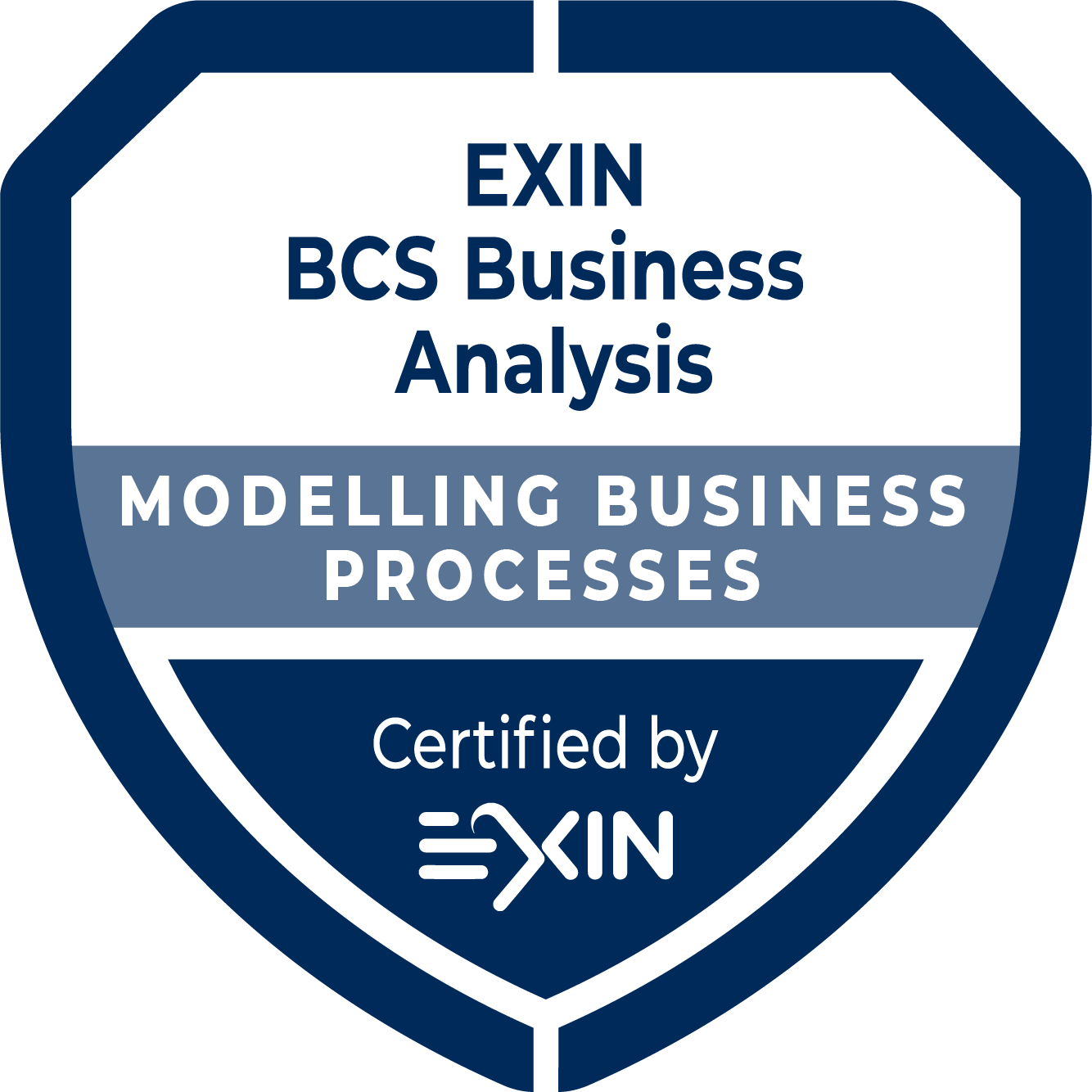 EXIN BCS Practitioner Certificate in Modelling Business Processes MC
